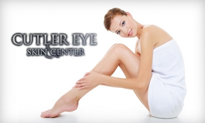 Cutler Eye & Skin Center - Gloucester: $99 for Three Laser Hair-Removal Treatments (Up to $600 Value) at Cutler Eye & Skin Center