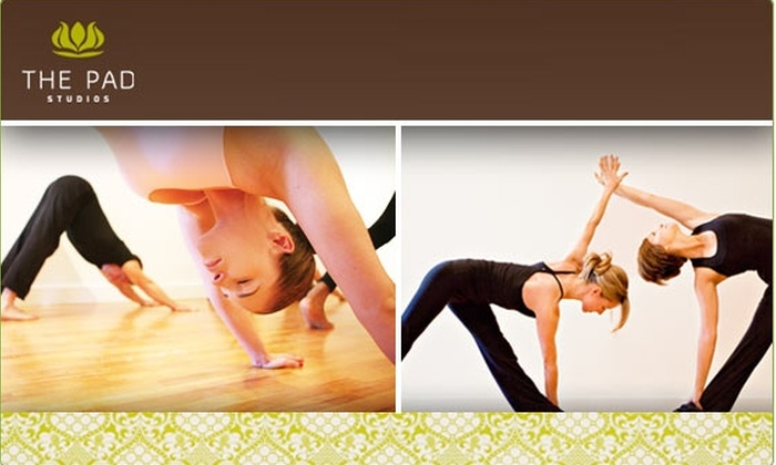The Pad - Cow Hollow: $30 for Five Power Yoga Classes ($80 Value)