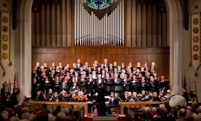 Asheville Choral Society - Arden: $20 for Two Adult Tickets ($40 Value) or $10 for Two Student Tickets ($20 Value) to the Asheville Choral Society's May 21 or 22 Performance