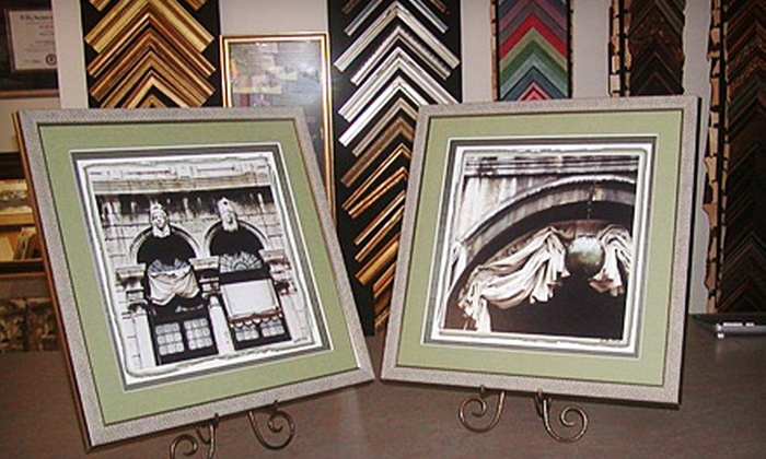 Art and Frame Naperville - Naperville: $49 for $100 Worth of Custom Framing at Art and Frame Naperville