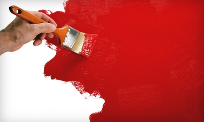 Faux Real Painting - Downtown: $112 for Two Coats of Painting for One Room from Faux Real Painting (Up to $225 Value)