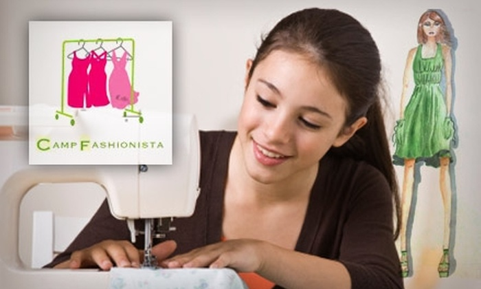 Camp Fashionista - Willow Glen: $20 for Any Class at Camp Fashionista ($45 Value)