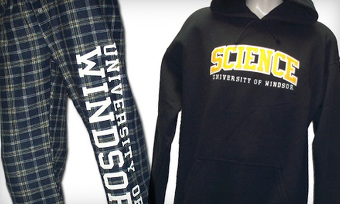 University of Windsor Bookstore - University: $10 for $20 Worth of Apparel and Gifts at University of Windsor Bookstore