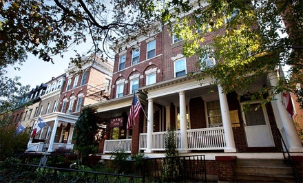 1-Night Stay for Two Adults and Up to Two Younger Kids in a Shared-Bathroom Valid Sun.-Thurs. - Adams Inn Bed and Breakfast in Washington