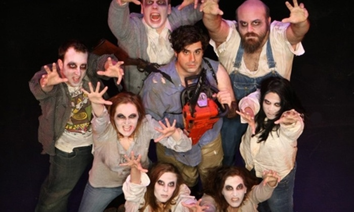 "Evil Dead: The Musical at Studio Two in the Riffe Center - Downtown Columbus: $23 for One Ticket to ""Evil Dead: The Musical"" by CATCO at Studio Two in the Riffe Center on July 10 at 7 p.m."