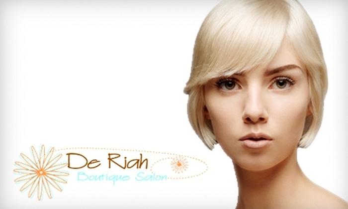 De Riah Boutique Salon - Milwaukee: $50 for $100 Worth of Hair Services at De Riah Boutique Salon in Cedarburg