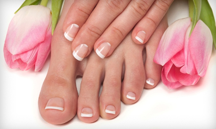 Pour L'Image - Bryn Mawr: One, Two, or Three Mani-Pedis at Pour L'Image in Bryn Mawr (Up to 61% Off)