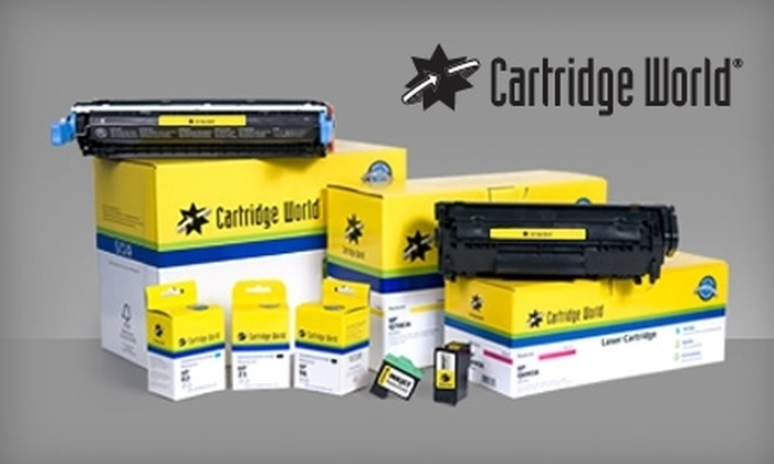 Cartridge World - Multiple Locations: $8 for $20 Worth of Ink and Toner Refills at Cartridge World