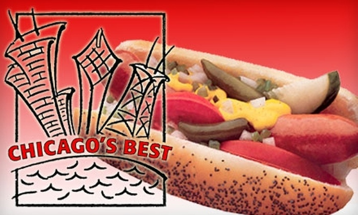 Chicago's Best - Irvine Business Complex: $5 for $10 Worth of Hot Dogs, Italian Beef, and More at Chicago's Best