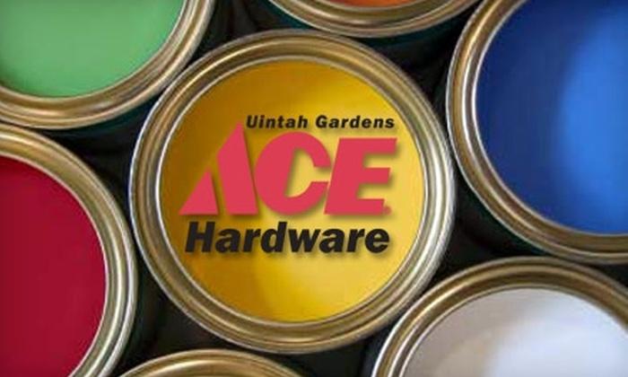 Ace Hardware Uintah Gardens - Old Colorado City: $10 for $20 Worth of Home Improvement Supplies at Ace Hardware Uintah Gardens