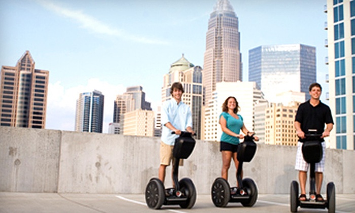Magic Carpet Glide - Fourth Ward: $30 for Two-Hour Segway Tour of Charlotte from Magic Carpet Glide ($65 Value)