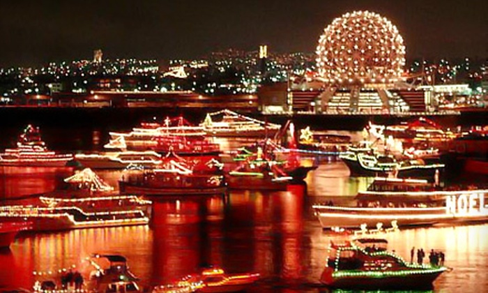 Pride of Vancouver Charters - Vancouver: $39 for Three-Hour Carol Ships Dinner Cruise from Pride of Vancouver Charters ($78.34 Value)