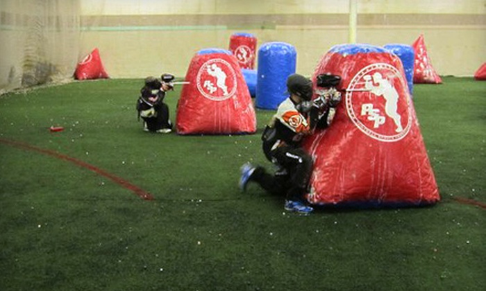 CRU Paintball - Flint: All-Day Admission, Equipment Rental, and Paintballs for Two, Four, or Six at CRU Paintball in Flint