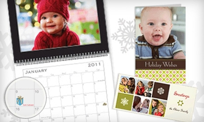 Vistaprint: $3 for One Custom Photo Calendar (Up to $15.99 Value) and Free Photo Uploads ($4.99 Value) from Vistaprint
