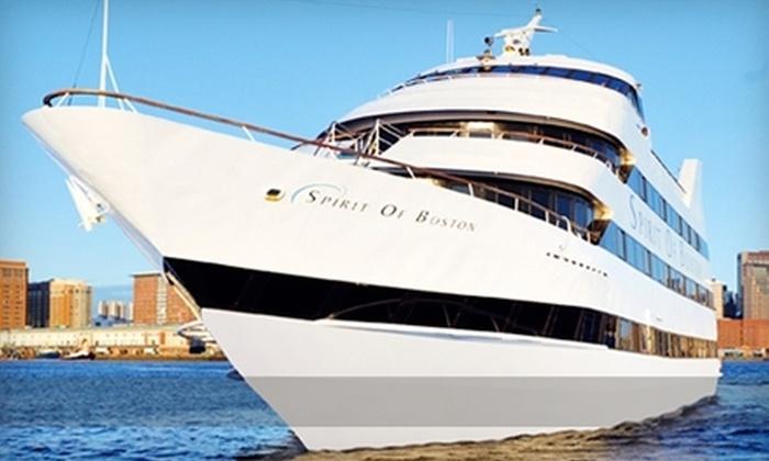"Spirit of Boston - Boston: Cruises of Boston Harbor Aboard ""Spirit of Boston."" Two Options Available."