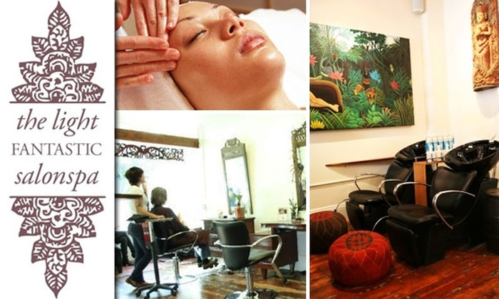 The Light Fantastic Salonspa - Hayes Valley: $50 for $110 of The Light Fantastic Salonspa Services