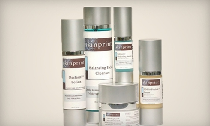 Skinprint: $30 for $90 Worth of Skincare Products from Skinprint