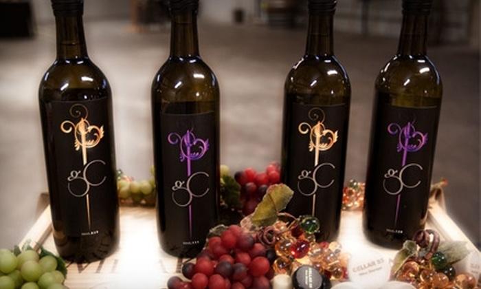 Gougér Cellars & Winery - Hough: $30 for Four Premium Wine Tastings, Plus $20 Toward Wine, at Gougér Cellars & Winery in Downtown Vancouver ($60 Value)