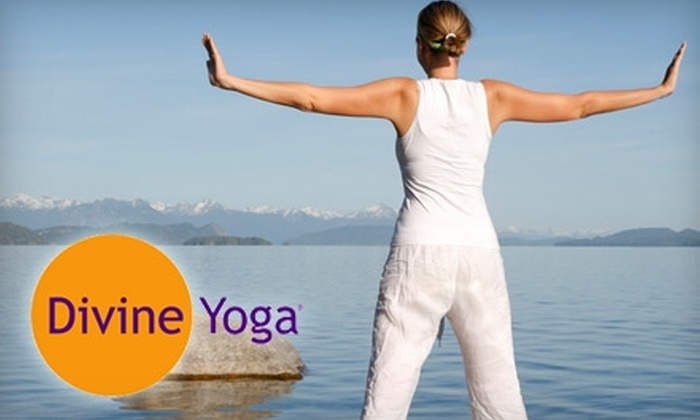 Divine Yoga - Uptown Broadway: $20 for a Four-Class Pass at Divine Yoga ($45 Value)