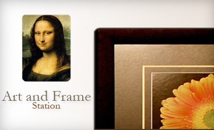 $100 Groupon to Art and Frame Station - Art and Frame Station in Murray