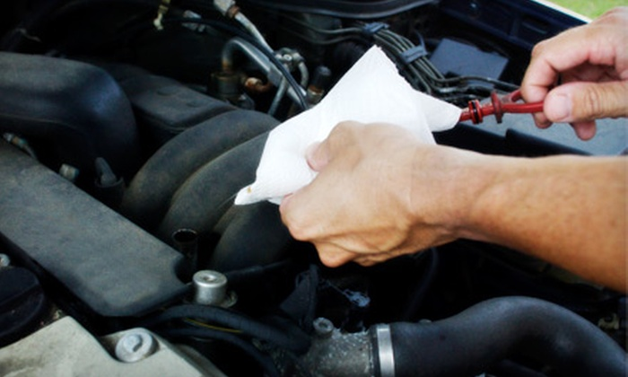 Demaagd GMC Nissan - Battle Creek: $29 for an Oil Change, Brake Inspection, Tire Rotation, and 27-Point Inspection at Demaagd GMC Nissan ($64.90 Value)