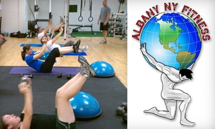 Albany NY Fitness - Albany: $35 for a Four-Week Body Revolution Fat Loss System at Albany NY Fitness ($210 Value)