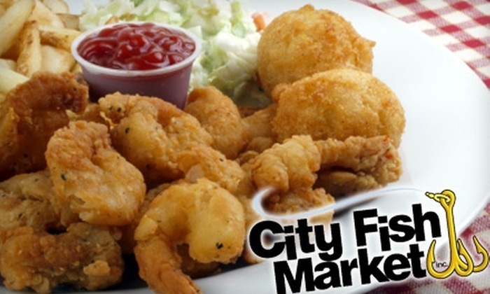 City Fish Market - Wethersfield: $8 for $16 Worth of Fresh Seafood Dishes at City Fish Market