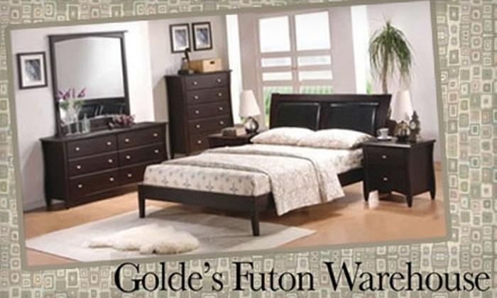 Golde's Futon Warehouse - Middleton: $49 for $200 Toward Mattresses and Platform Frames at Golde's Futon Warehouse