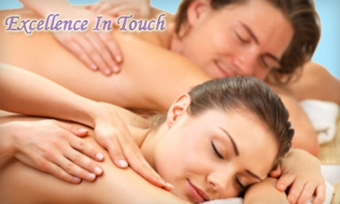 Excellence in Touch - Barton Hills: $80 for One-Hour Massage Class for Two at Excellence In Touch ($160 Value)