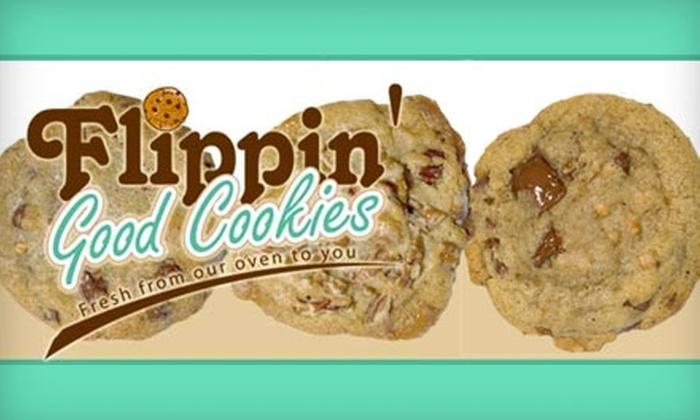 Flippin' Good Cookies - Sans Pareil: $10 for One-Dozen Cookies at Flippin' Good Cookies ($18.99 Value)