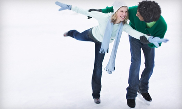 Oilers Ice Center - Union Gardens: Ice Skating  for Two or Four with or without Skate Rental at Oilers Ice Center (Up to 64% Off)