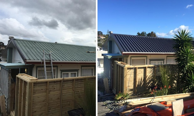 roof painting package jmk roofing services groupon