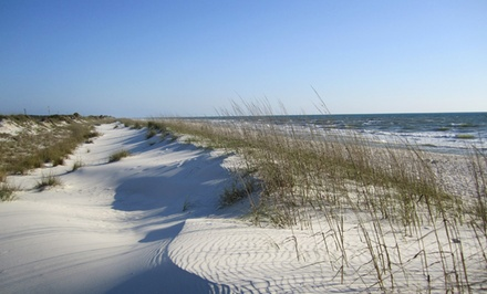 groupon daily deal - 2- or 3-Night Stay for Two at Cape San Blas Inn in Port Saint Joe, FL