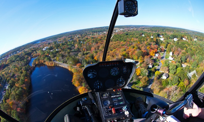 MetroWest Helicopters - MetroWest Helicopters: One-Hour Introductory Helicopter Flight Lesson for One or Two at MetroWest Helicopters (Up to 50% Off)