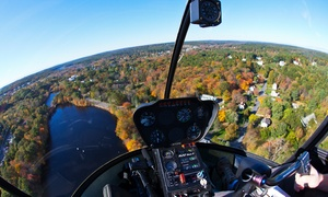 MetroWest Helicopters: One-Hour Introductory Helicopter Flight Lesson for One or Two at MetroWest Helicopters (Up to 50% Off)
