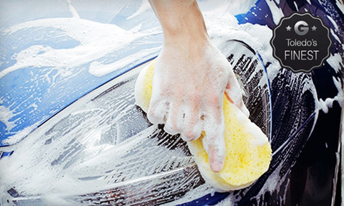 Expresso Car Wash - Multiple Locations: Full-Service Oil Change and Car Wash or Three Works Plus Car Washes at Expresso Car Wash (Up to 55% Off)