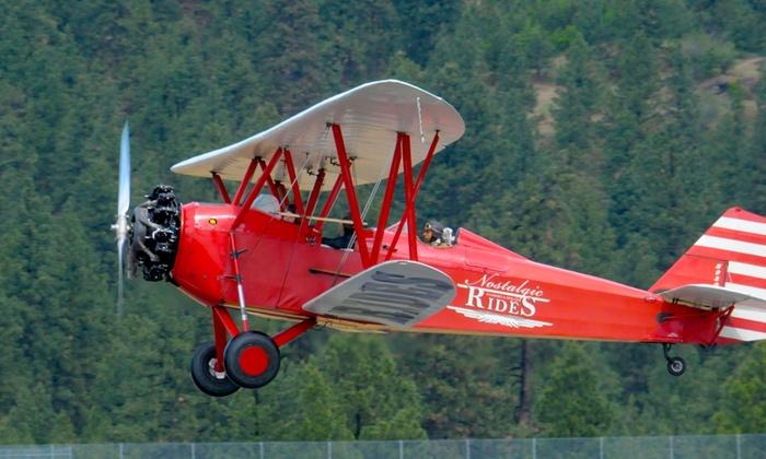 Nostalgic Warbird & Biplane Rides - Independence: Up to 44% Off Flying Tour at Nostalgic Warbird & Biplane Rides
