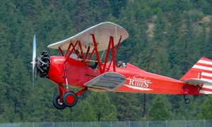 Nostalgic Warbird & Biplane Rides: Up to 48% Off Flying Tour at Nostalgic Warbird & Biplane Rides