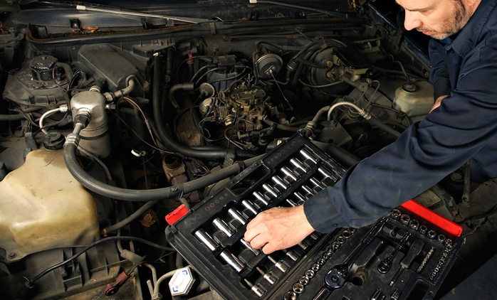 Full Synthetic or Synthetic Blend Oil Change with Optional Battery Check at 95 Auto Service (Up to 60% Off)