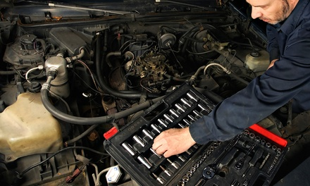 Full Synthetic or Synthetic Blend Oil Change with Optional Battery Check at 95 Auto Service (Up to 55% Off)