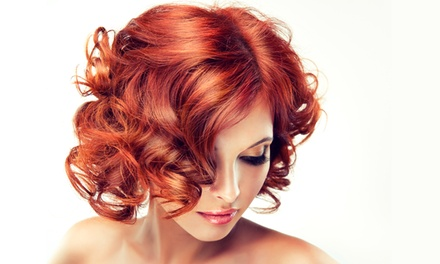 Women's Haircut Package with Optional  Highlights at Chateau D'tour Salon (Up to 83% Off)