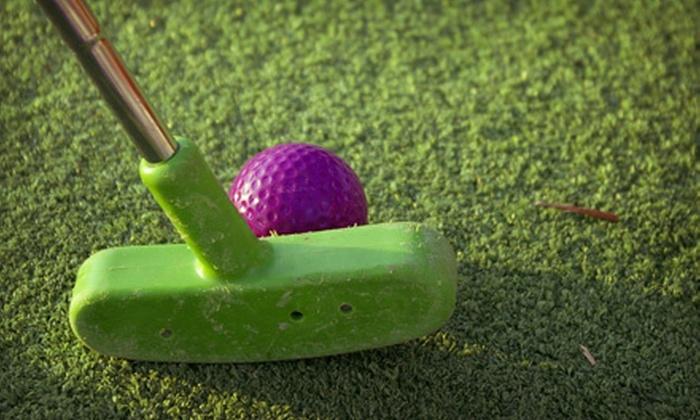 Tropical Gardens Mini Golf - Asheville: $6 for Mini Golf for Two at Tropical Gardens Mini Golf (Up to $13.50 Value)