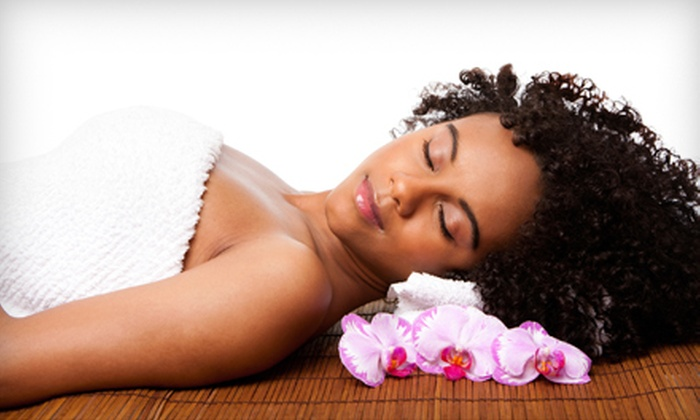 Veola's Day Spa & Wellness Center - Beverly: $92 for a No-Chip Spa Manicure, Spa Pedicure, and Body Scrub at Veola's Day Spa & Wellness Center ($197 Value)