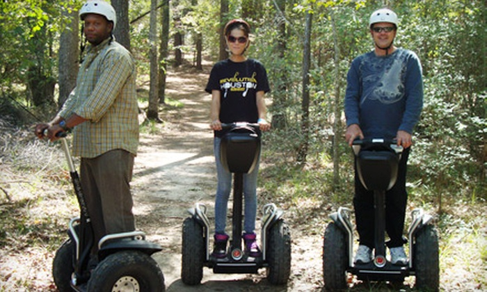 SegCity Houston - Tomball: Trail Blazin' Off-Road Segway Tour for One, Two, or Four People from SegCity Houston in Tomball (Up to 60% Off)