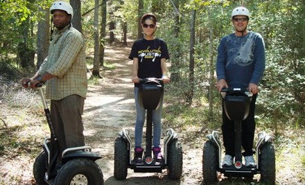 Admission for 1 Person to the Trail Blazin Off Road Segway Tour (a $99 value) - SegCity Houston in Tomball