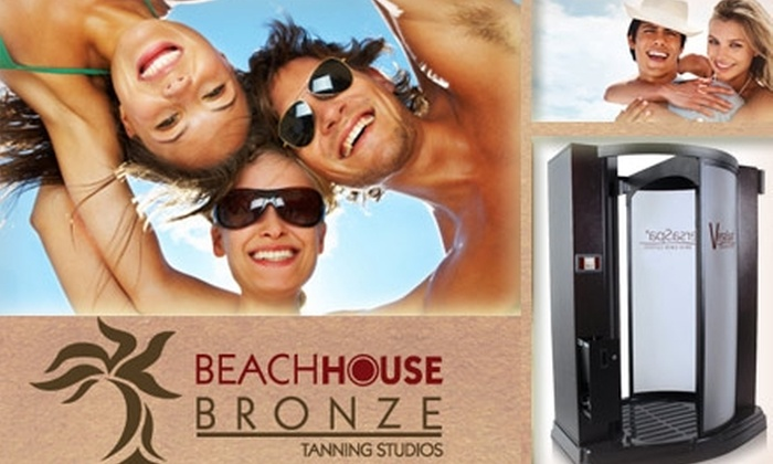 Beach House Bronze Tanning Studios - Richmond Heights: $30 for Three Tanning-Bed or Sunless-Tanning Sessions at Beach House Bronze Tanning Studios