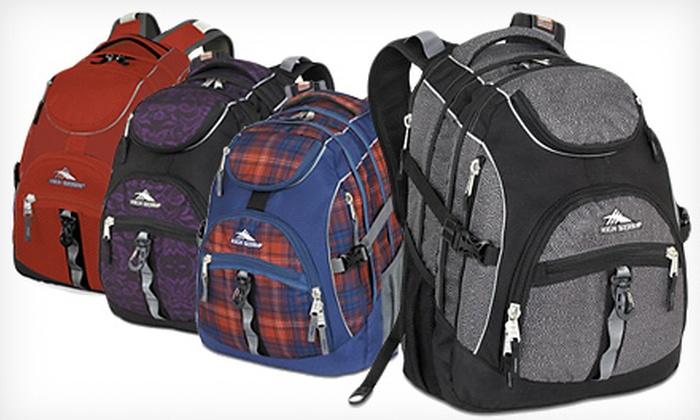 51e0d0b565  29 for a High Sierra Access Backpack