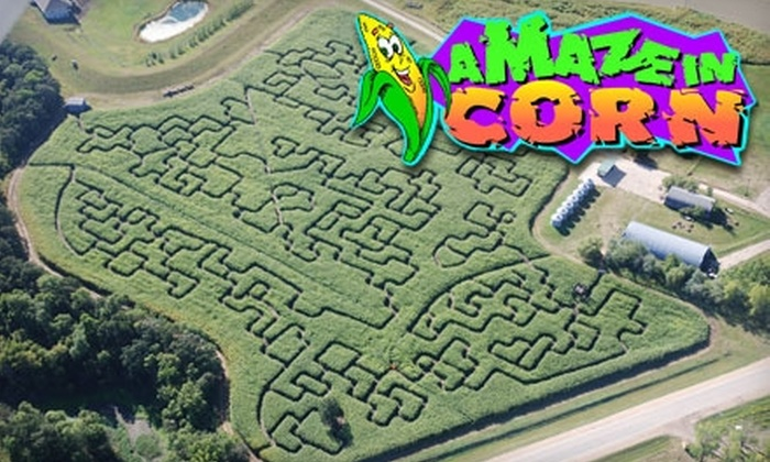 A Maze In Corn - St. Adolphe: $4 Admission to A Maze in Corn (Up to $8.50 Value)
