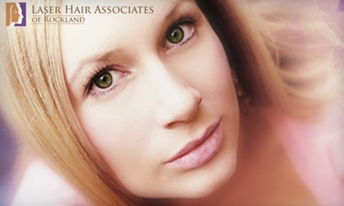 Laser Hair Associates of Rockland - Orangetown: $95 for Three Laser Hair-Removal Treatments at Laser Hair Associates of Rockland in Pearl River