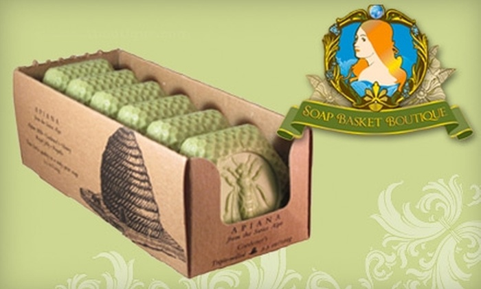 Soap Basket Boutique: $20 for Six Bars of Luxury Soap from Soap Basket Boutique ($37 Value). Choose From Two Options.